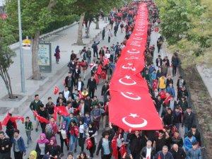 Konya'da 57. Alay'a Vefa Yürüyüşü