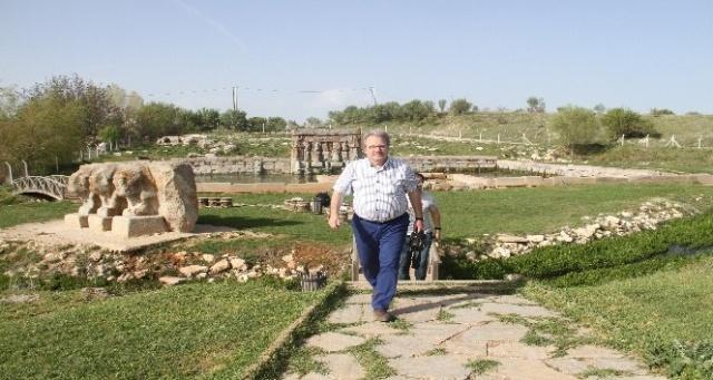 Eflatunpınar Hitit Kutsal Anıtı ve Havuzu turizmde daha iyi noktalara getirilecek