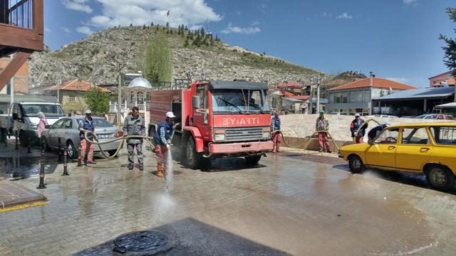 Bozkır'da Bahar Temizliği
