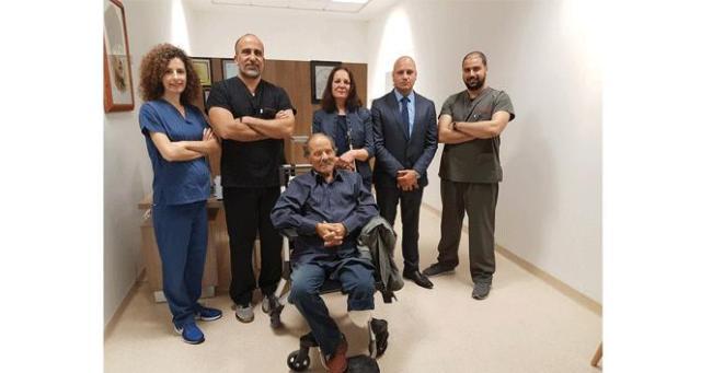 72 yaşındaki hasta 4 operasyonla sağlığına kavuştu