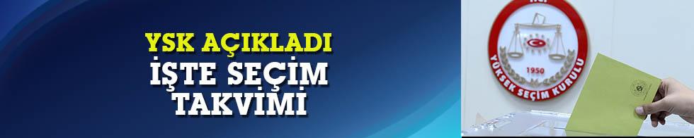 24 Haziran Cumhurbaşkanlığı ve Milletvekilliği Seçimi  takvimi