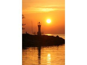 """""""Batı Karadeniz'in İncisi""""nde gün batımı"""