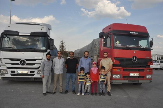 Oyuncaksız Çocuklar İçin Derneği'nden Doğu Guta'ya yardım