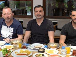 Konyaspor, kahvaltıda bir araya geldi