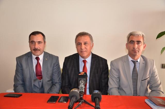 ÖGG-İŞ Güvenlik görevlilerinin yanında
