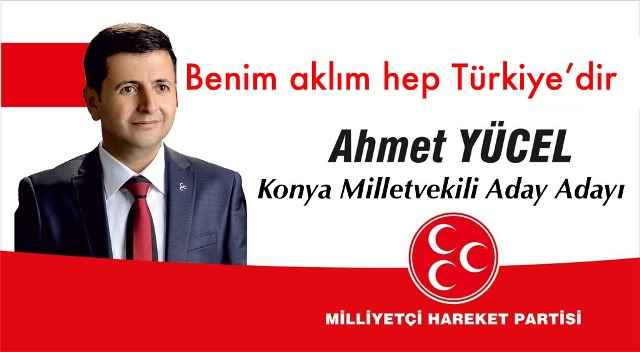 Ahmet Yücel aday adayı