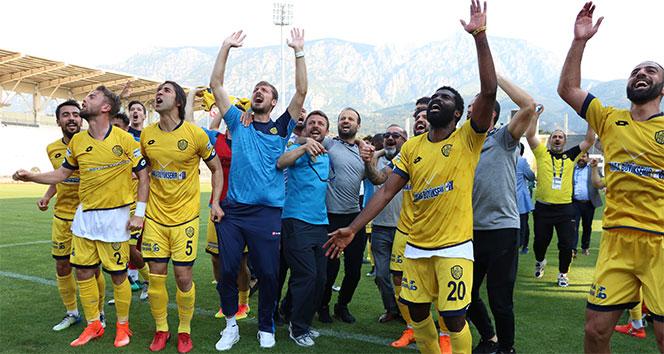 Ankaragücü 6 yıl sonra Süper Lig'de