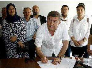 Tanju Çolak, milletvekilliği aday adaylığı için başvurdu