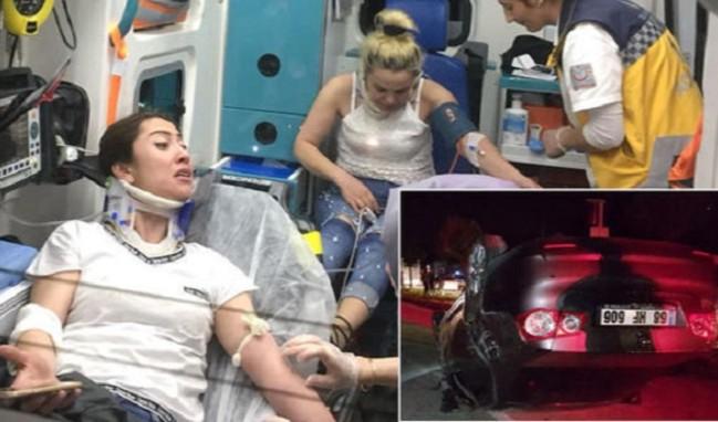 Eşi şaka yaptı, 5 kişi yaralı!