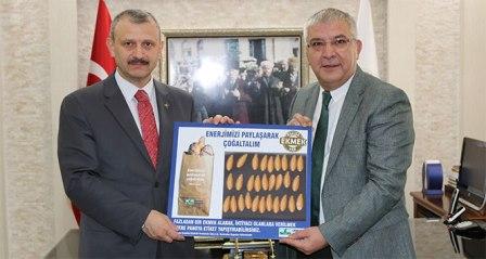 'Askıda Ekmek' projesine destek