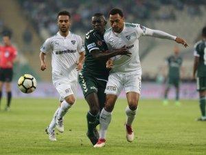 Konyaspor, Bursa'da kayıp