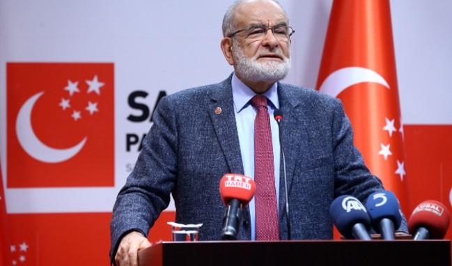 Saadet Partisi Cumhurbaşkanı adayını açıkladı!