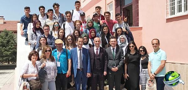 Erasmus okul ortaklığı toplantısı yapıldı