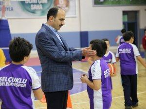 Selçuklu Yaz Spor Okullarında