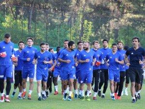 Karabükspor konyaspor maçı hazırlıklara başladı