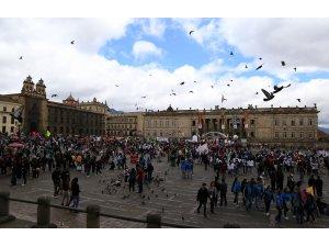Kolombiya'da 1 Mayıs Emek ve Dayanışma Günü