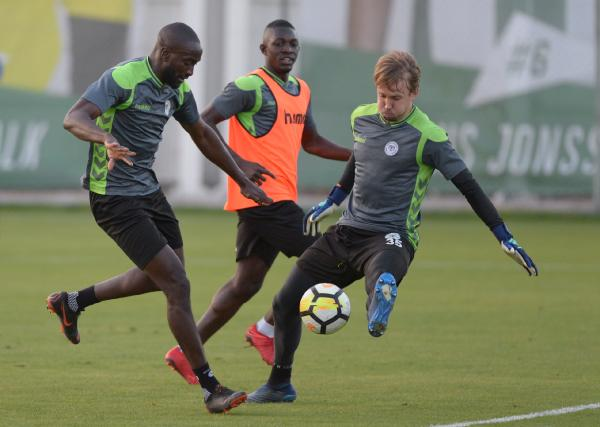 Konyaspor'da  Karabükspor maçı  hazırlıkları