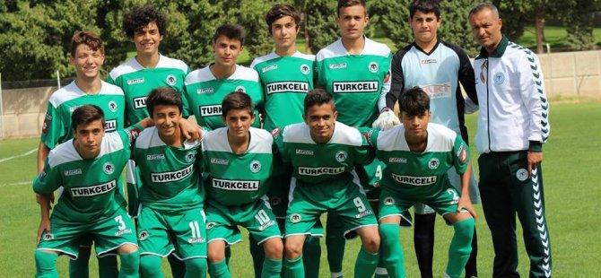 Konyaspor U 15 ve U 14 Türkiye Finallerinde