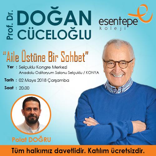 Esentepe Koleji Doğan Cüceloğlu'nu Konyalılarla Buluşturuyor