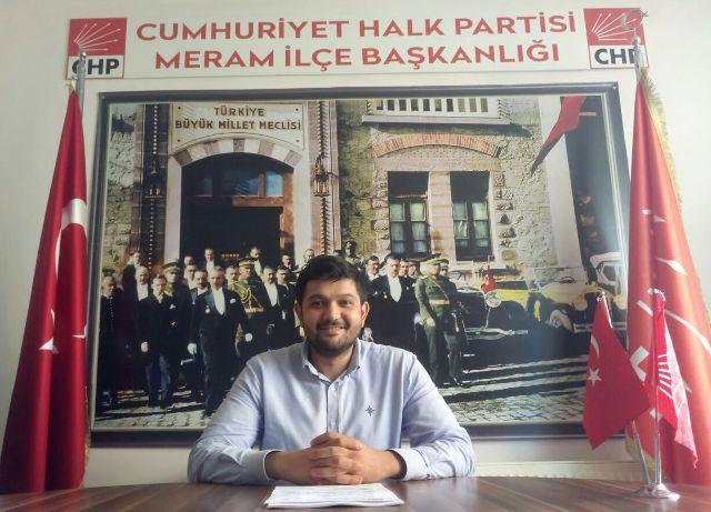 CHP Meram'da Ahmet Yiğit dönemi