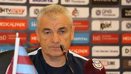 Trabzonspor Teknik Direktörü Çalımbay: Kalan 3 maça konsantre olunmasını istiyoruz
