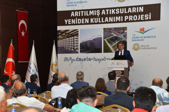 """Arıtılmış Atık Suların Yeniden Kullanımı Projesi""""nin Kapanış Toplantısı Yapıldı"""