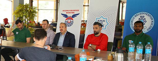 Selçuklu Belediyesi Basketbol,  Süper Lig için seyirci desteği bekliyor