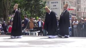 Mevlana'nın Karaman'dan Konya'ya Göç Etmesi Canlandırıldı
