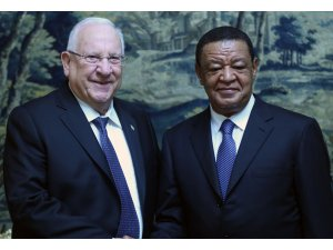 İsrail Cumhurbaşkanı Rivlin, Etiyopya'da
