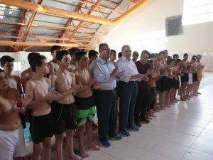 Çatalhüyük Çumra Belediyespor yüzme takımı kuruldu