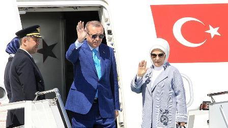 Cumhurbaşkanı Erdoğan Güney Kore'den ayrıldı
