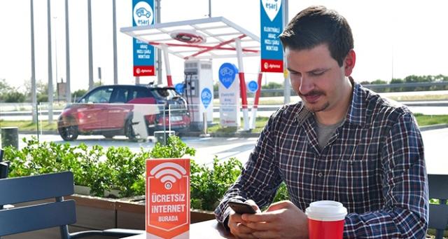 Aytemiz istasyonlarında ücretsiz internet dönemi