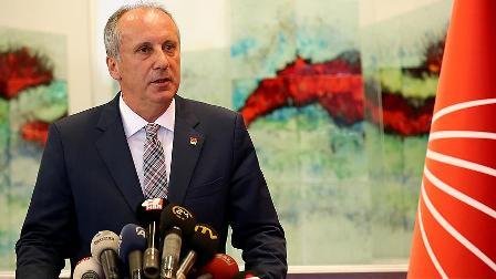 CHP'li İnce, cumhurbaşkanı adayı olacağına ilişkin iddialara cevap verdi