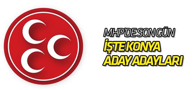 MHP'de son gün: aday adayları belli oluyor
