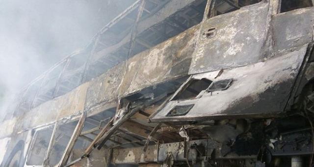 Hindistan'daki otobüs kazasında ölü sayısı 27'ye yükseldi