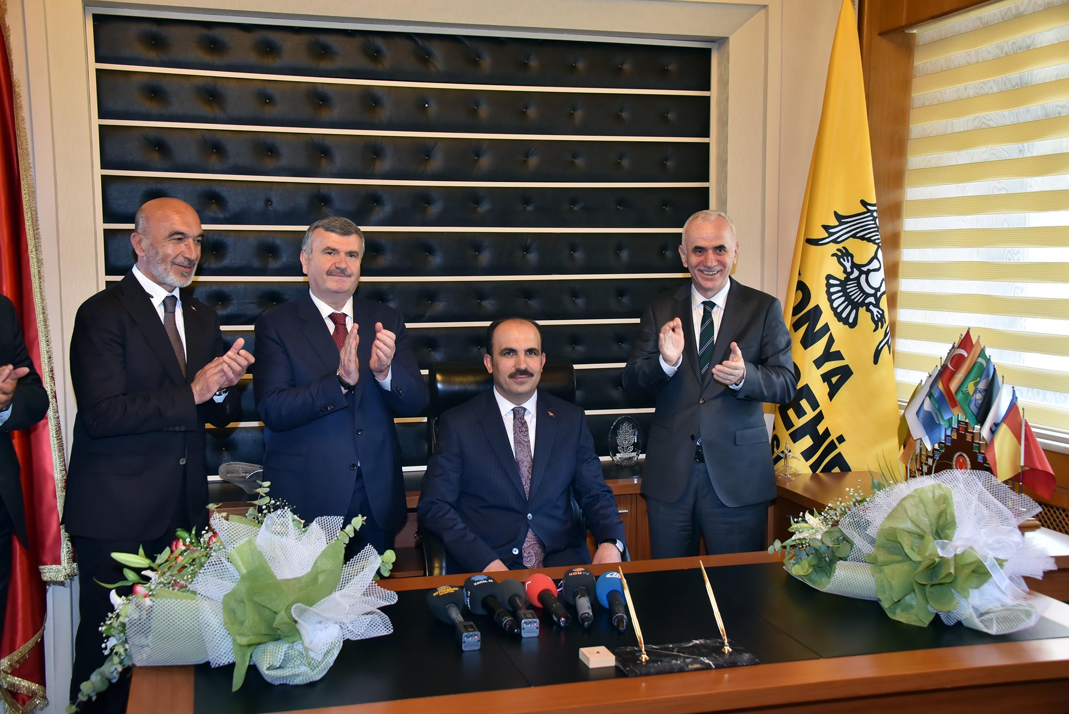 Uğur İbrahim Altay Büyükşehir Belediye Başkanı Oldu