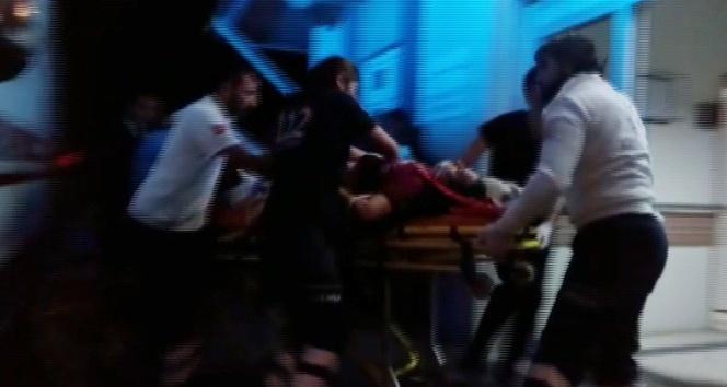 Dur ihtarına uymayan arace ateş açıldı: 1 ölü, 1 yaralı