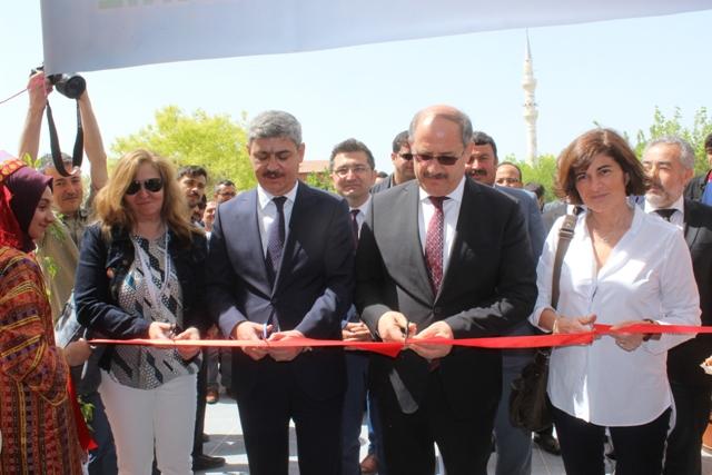 Karapınar'da TÜBİTAK Fuarı açıldı