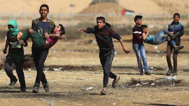 Gazze'de 5 çocuk şehit oldu