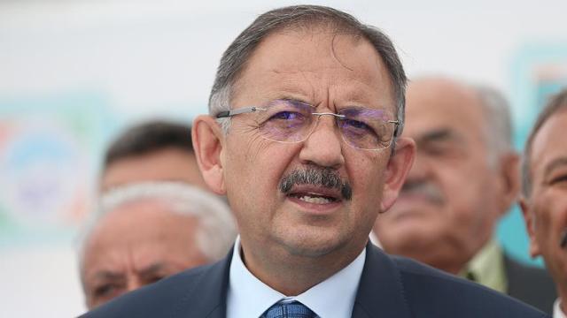 Çevre ve Şehircilik Bakanı Özhaseki: İmar barışıyla vatandaş devletiyle helalleşiyor