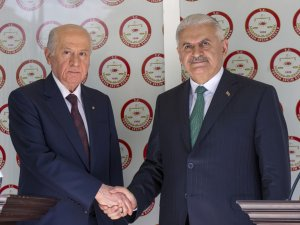 Cumhur İttifakı'nın ortak adayı Cumhurbaşkanı Erdoğan