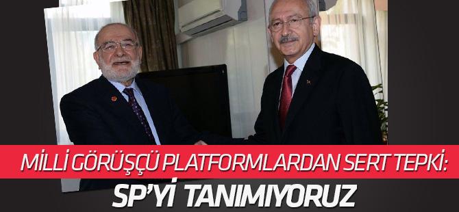 'Milli Görüşçü Kuruluşlar Platformu'ndan Saadet'e sert eleştiri: Milli Görüş'le alakası kalmamıştır