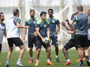 Konyaspor'da Karabükspor maçı hazırlıkları tamamlandı