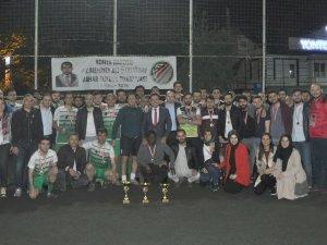 Baro Futbol Turnuvasında şampiyon Akşehir