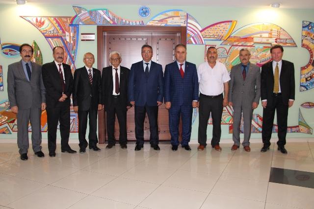 Başkan Hançerli, MHP Karatay İlçe teşkilatını ağırladı