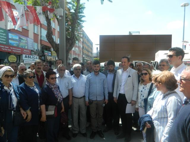 CHP Konya İl Başkanı Bektaş: Lanetliyoruz