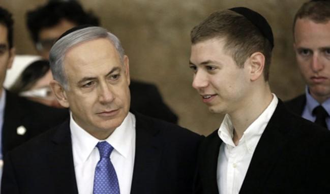 Netanyahu'nun oğlundan alçak paylaşım!
