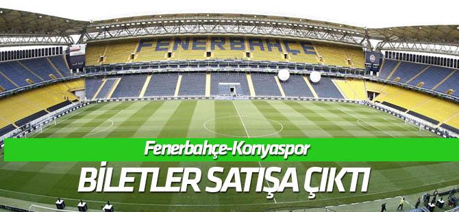 Fenerbahçe-Konyaspor maçı biletleri satışa çıktı