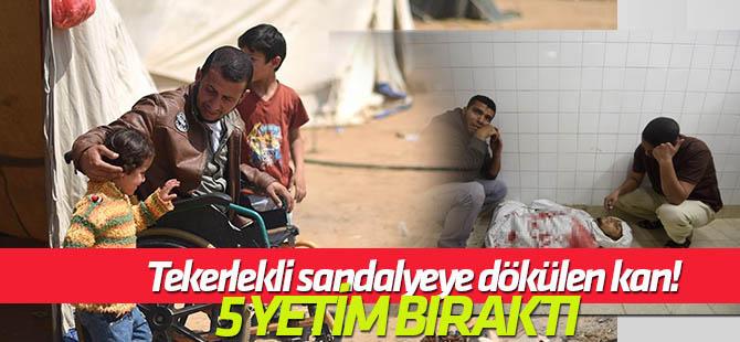 Tekerlekli sandalyeye dökülen kan: Fadi Ebu Salah