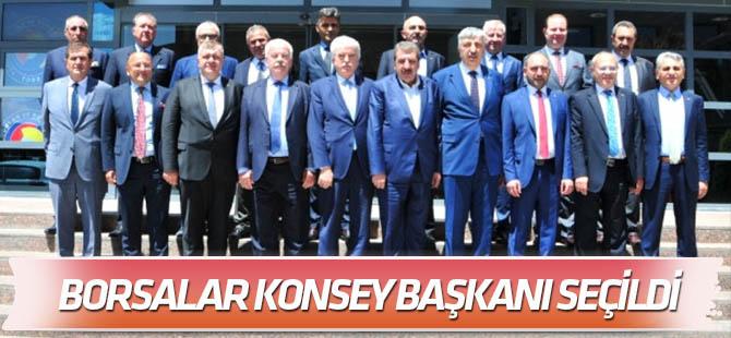 Çevik, Borsalar Konsey Başkanı seçildi